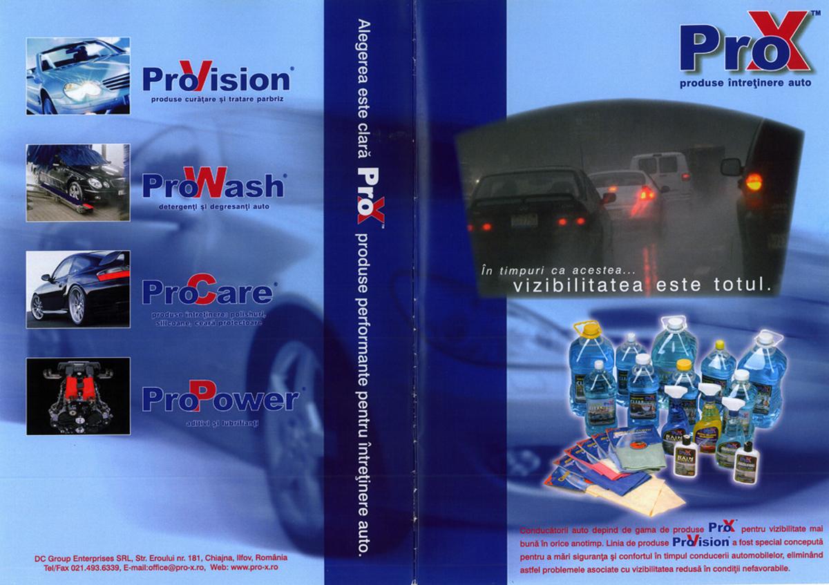 Primul catalog de produse Pro-X scanare din arhiva