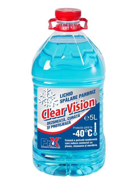 Lichid Spalarea Parbriz Clear Vision -40C 5L