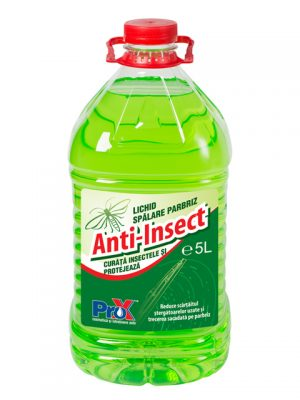 Lichid spalare parbriz Anti-Insect 5L