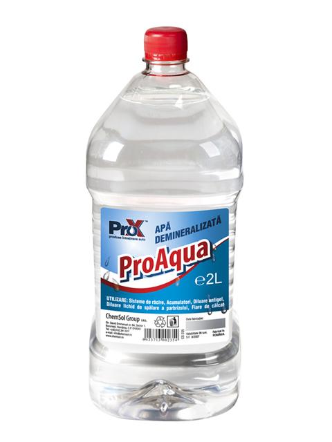 Apa demineralizata ProAqua 2L