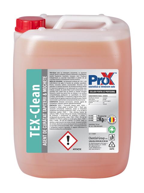 Tex-Clean 22Kg - Agent de curatat tapiterii si mochete