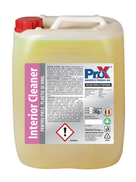 Interior Cleaner 22Kg - Solutie curatat piele, plastic, vinil si cauciuc