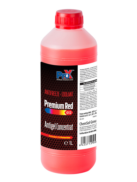 Antigel auto Premium RED G12 S 1L