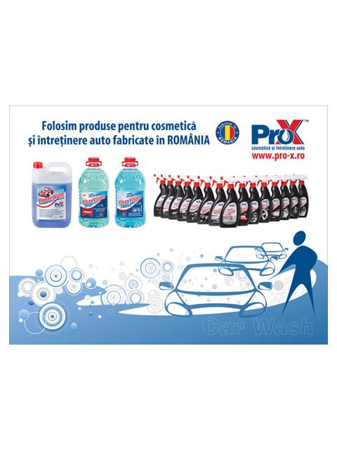Pro-X CarWash Panou fata