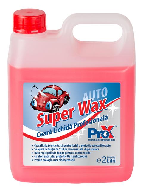 Super Wax - Ceara lichida profesionala- 2L