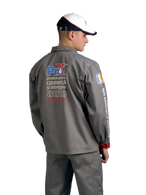 Uniforme spalatorii auto Pro-X jacheta spate